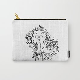 Lion Lineart Carry-All Pouch