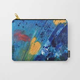 Views of Rainbow Coral, Tiny World Collection Carry-All Pouch