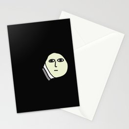 late night texting Stationery Cards
