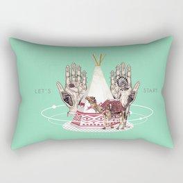 ODYSSEY .  Rectangular Pillow