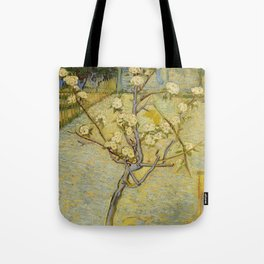 Small Pear Tree in Blossom Tote Bag