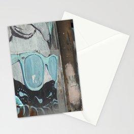 Cuban Streetart - Cool Blue Stationery Cards