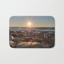 Majestic Beach Sunset Bath Mat