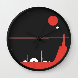 Station0 Wall Clock