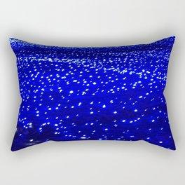 Blue light illumination Rectangular Pillow