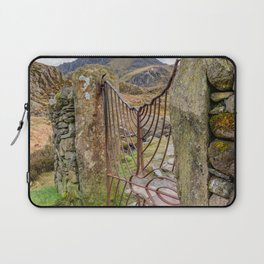 Gate To Tryfan Snowdonia Laptop Sleeve