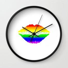 Love is love is love is love Wall Clock