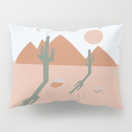 High Desert Shadows Pillow Sham