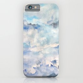 Water Spout on Seven Mile Island iPhone Case