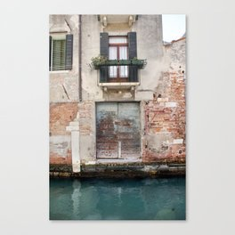 A venice door Canvas Print