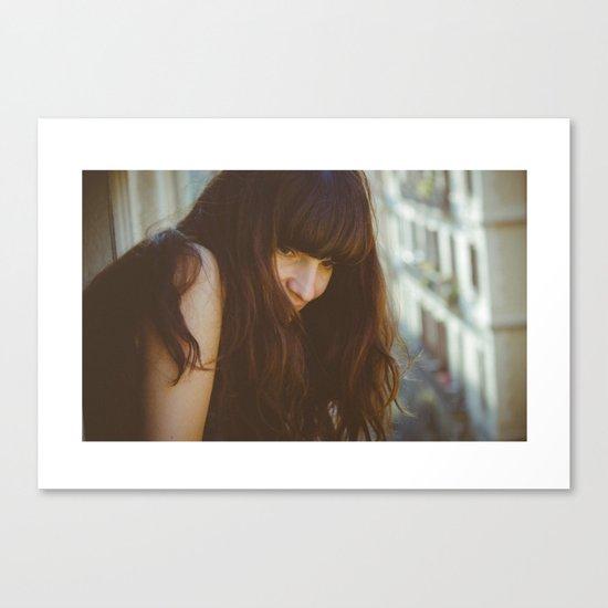 Love from Paris Canvas Print