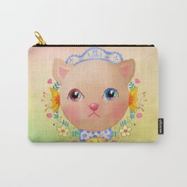 Cat you put the universe in the eyes Carry-All Pouch