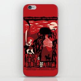 B-Movie iPhone Skin