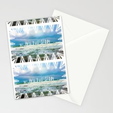 Be Wild and Stray. Stationery Cards