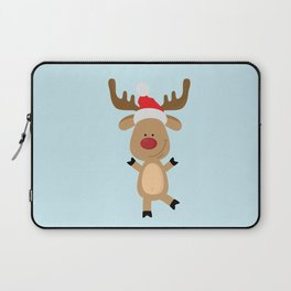 Dancing Rudolph Red Nosed Reindeer Merry Christmas Laptop Sleeve