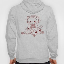 The Adventures of Bear and Baby Bear-Cats Hoody