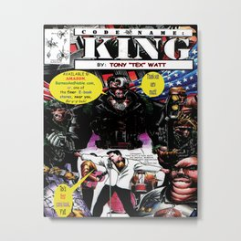 """Code Name: King""  - Comic Book Promo Poster  Metal Print"