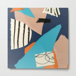 abstract collage Metal Print