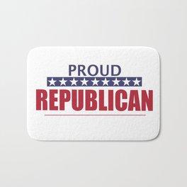 Proud Republican Bath Mat