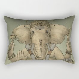 Ganesha Rectangular Pillow