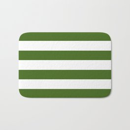 Simply Stripes in Jungle Green Bath Mat