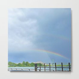 Double Rainbow 2 Metal Print