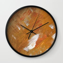 Beautiful Spring Acrylic Textures Wall Clock