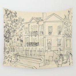 Raoul Dufy Alyscamps en Arles Wall Tapestry