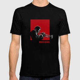 MILES / DAVIS [A Kind of Red][by felixx / 2016] T-shirt