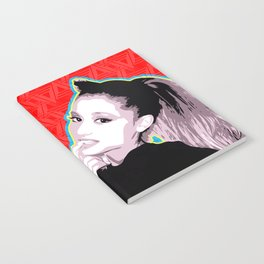 Ariana | Pop Art Notebook