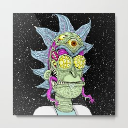 Monster Rick Metal Print