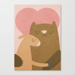 SPECIAL LOVE Canvas Print