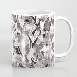 Painted Floral Coffee Mug