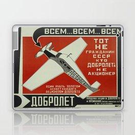 Vintage poster - Soviet Union Laptop & iPad Skin