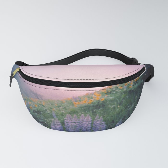 Wild Flowers in the Big Horn Mountains Fanny Pack