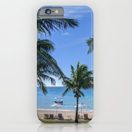 Tropical Beach in North Eleuthera, Bahamas #1 iPhone Case