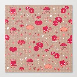 Be free Pattern Canvas Print