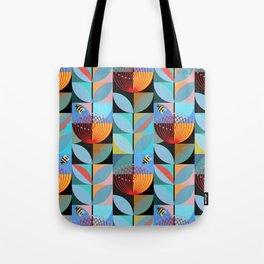 Blue Pohutukawa Tote Bag