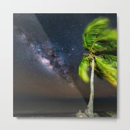 Milky Way & The Florida Keys Metal Print