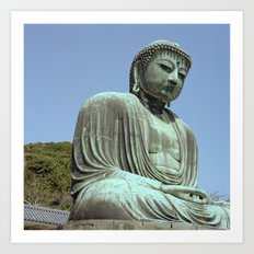The Great Buddha of Kamakura Art Print