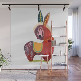 The Little Donkey without a Tail  Wall Mural