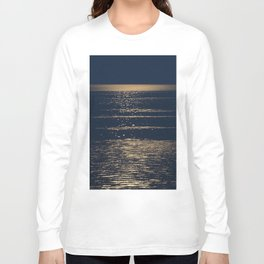 Abstract 121 - supermoon light Long Sleeve T-shirt