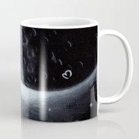 lunar Mugs featuring Lunar by BevyArt