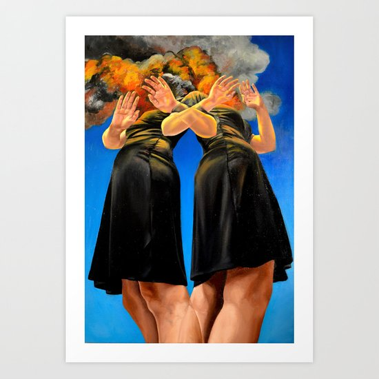 (Currently) Untitled Art Print