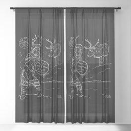 The Angakok Sheer Curtain