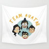 avatar Wall Tapestries featuring Team Avatar by tukylampkin