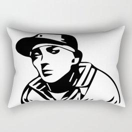THE  KING OF RAP AND HIP HOP Rectangular Pillow