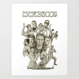 WWJCVDD? Art Print