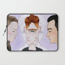 Bisexual Invisibility #2 Laptop Sleeve