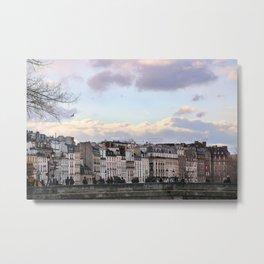 Soft light in Paris Metal Print